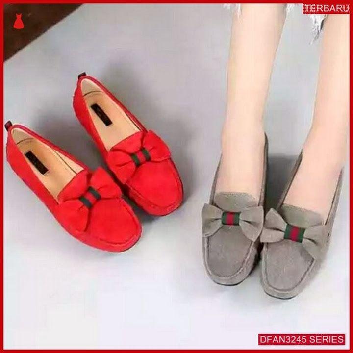 Dfan3245s27 Sepatu Nj 46 Flatshoes Wanita Pita Sepatu Shoes