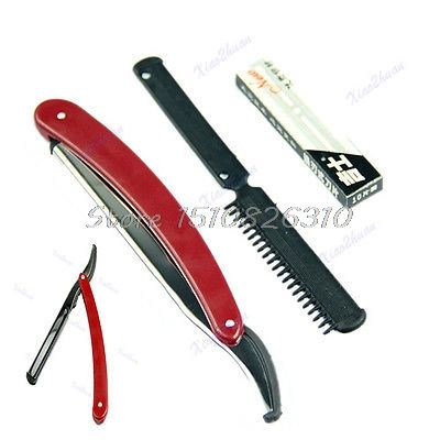 Disposable With 10 Replacement Blades Reusable Straight Razor Plastic Handle #Y207E# Hot Sale -  Compare Best Price for Disposable with 10 Replacement Blades Reusable Straight Razor Plastic Handle #Y207E# Hot Sale product. This Online shop give you the discount of finest and low cost which integrated super save shipping for Disposable with 10 Replacement Blades Reusable Straight Razor Plastic Handle #Y207E# Hot Sale or any product.  I hope you are very lucky To be Get Disposable with 10…