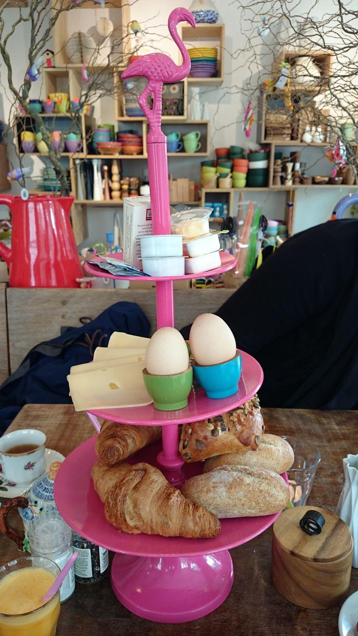 Galerie POP, NL Frühstück  // breakfast //  ontbijt