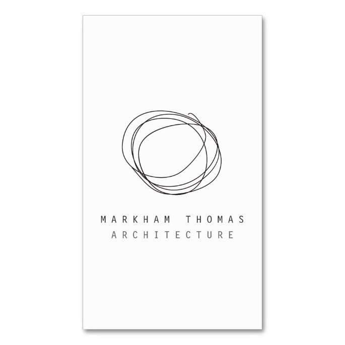 Minimal and Modern Designer Scribble Logo Double-Sided Standard Business Cards (Pack Of 100). I love this design! It is available for customization or ready to buy as is. All you need is to add your business info to this template then place the order. It will ship within 24 hours. Just click the image to make your own!