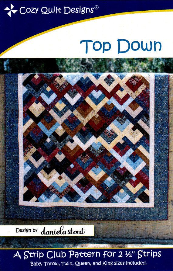 Top Down A Strip Club Pattern For 2 1 2 Quot Strips By