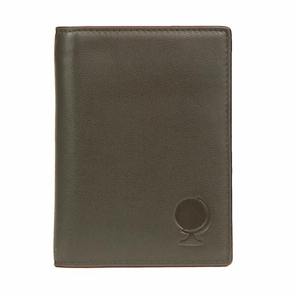 """The first elegant, practical and refined passport holder designed for gentlemen. This passport wallet holds a up to two passports, a pen, credit cards, ID, room keys, money, airline tickets and more, all while keeping them perfectly organized! Equipped with RFID blocking capabilities, our passport case will shield you from scammers while you're abroad. Lightweight and thin, yet excellent quality and craftsmanship. 5.9'' x 0.5 """" x 4.3"""" dimensions."""