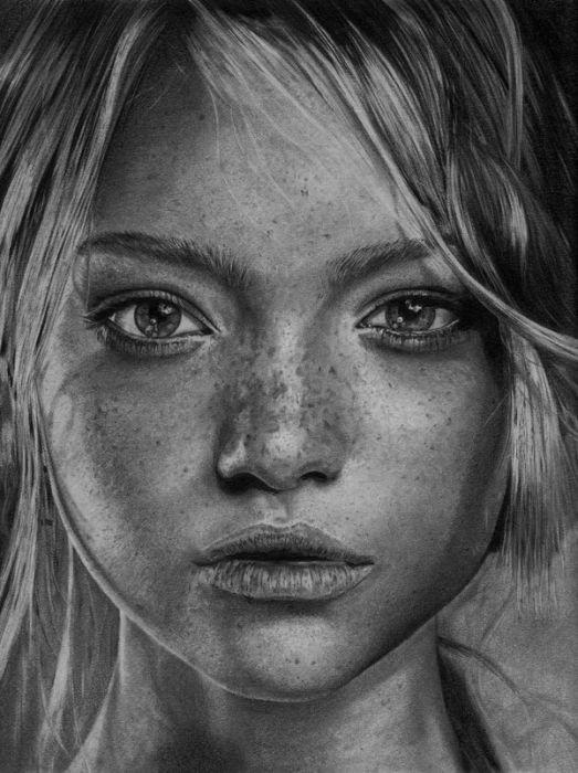 Art & Creativity - pencil drawing portrait - TopRQ.com