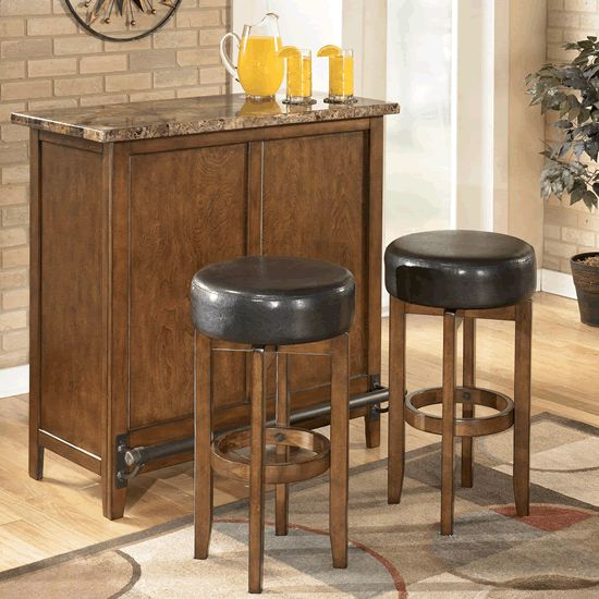Small Home Bar Furniture Theo Contemporary Small Bar Unit With Faux Marble Top Great Room