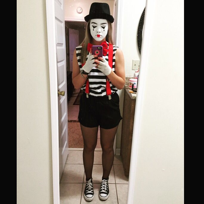 Mime costume | camp | Pinterest | Mime costume and Costumes