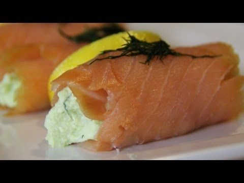 smoked salmon rolls | Recipes to try part 2.... | Pinterest