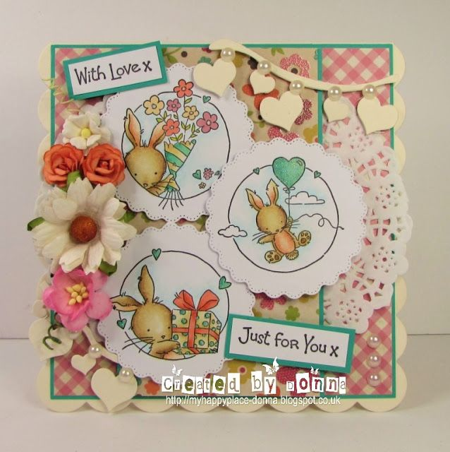 LOTV - Bunny Wishes Trio by Donna Mosley