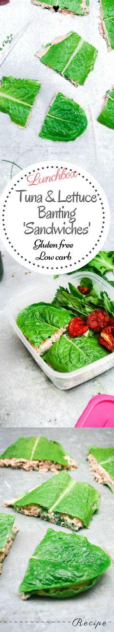 Lettuce & Tuna Banting 'Sandwiches' – Rebels Kitchen