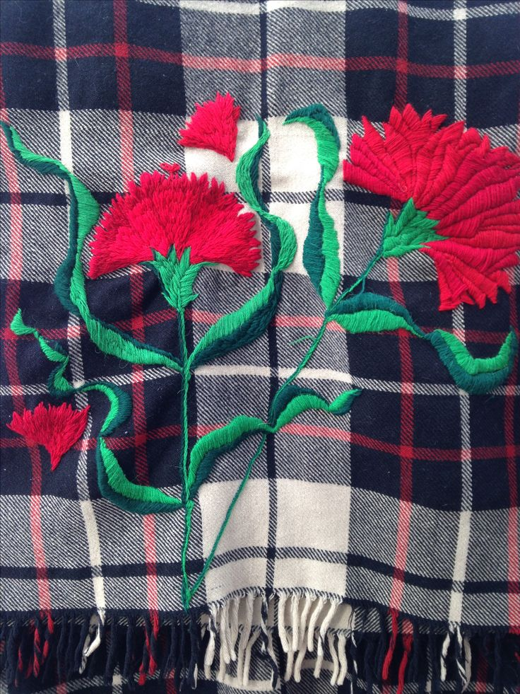 Diseño de Marta Day. Para dar nueva oportunidad a manta de lana .