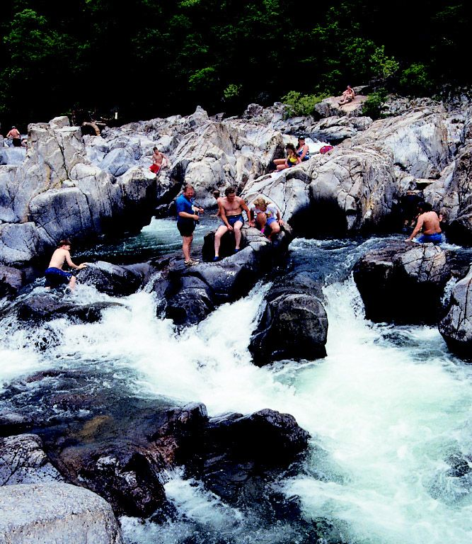 Johnson's Shut Ins in Missouri    A natural waterpark. This is a bucket list'er for sure.