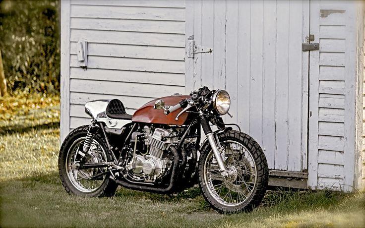 1978 CB750 Cafe Racer   Inazuma café racer