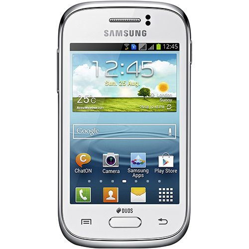 Smartphone Dual Chip Samsung Galaxy Young Duos Branco, R$ 449,00