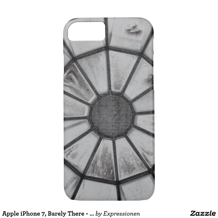 Apple iPhone 7, Barely There - Safe it! #smartphone #cover #cases #iphone #handy #handyhuelle #otterbox #spinne #spider #schwarzweiß #blackandwhite #sw #bw