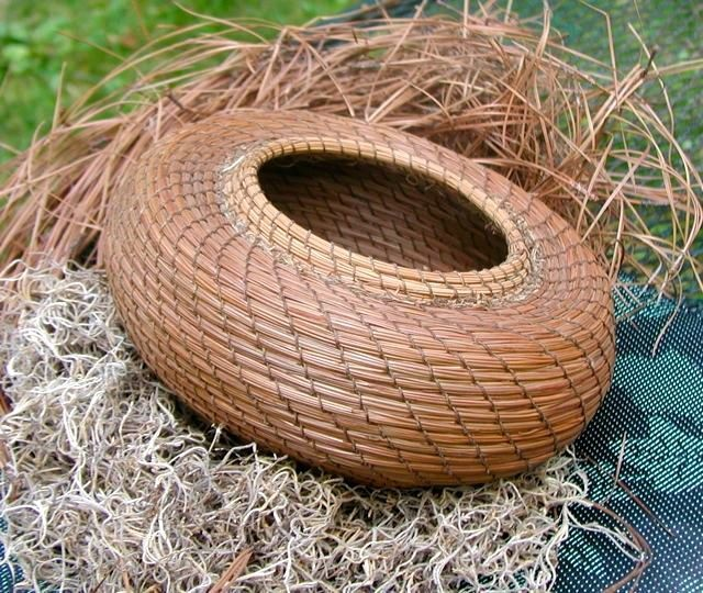 aboriginal basket weaving instructions