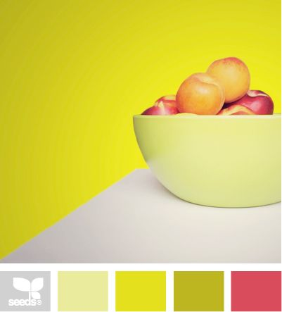 Design Seeds®: For All Who Love Color |  I love this site! Super cute color palette ideas:)