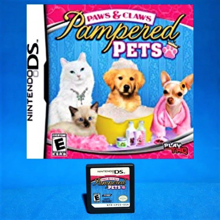 Nintendo Ds Paws And Claws Pampered Pets Game Compatible With