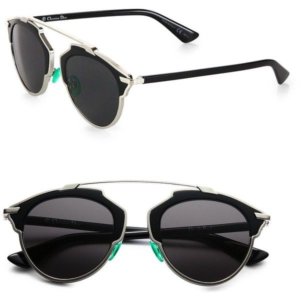 "My biggest wish this summer!!!!! So insane cool and chic  ""Dior So Real 55mm Pantos Sunglasses"""