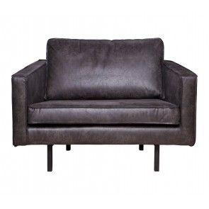 Rodeo fauteuil 1,5-zits love-seat Zwart | Musthaves verzendt gratis