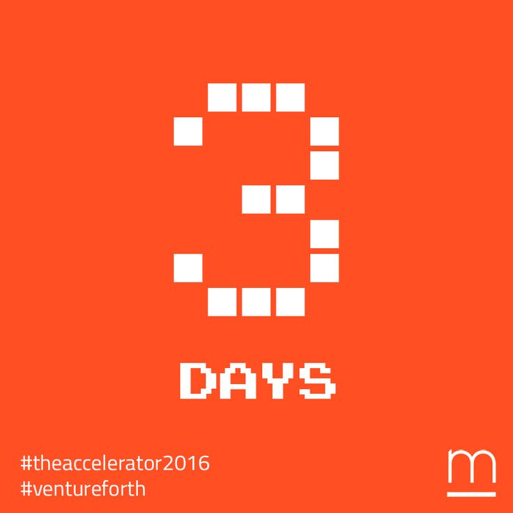 Only 3 days left to join #TheAccelerator2016 – Submit your amazing #tech company at:http://metavallon.org/the-accelerator/