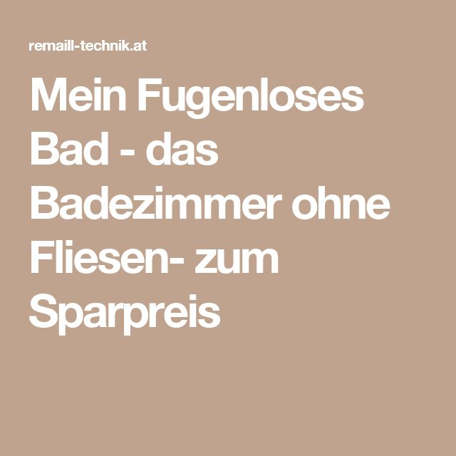 25 best ideas about fugenloses bad on pinterest - Bad fliesen weiay ...