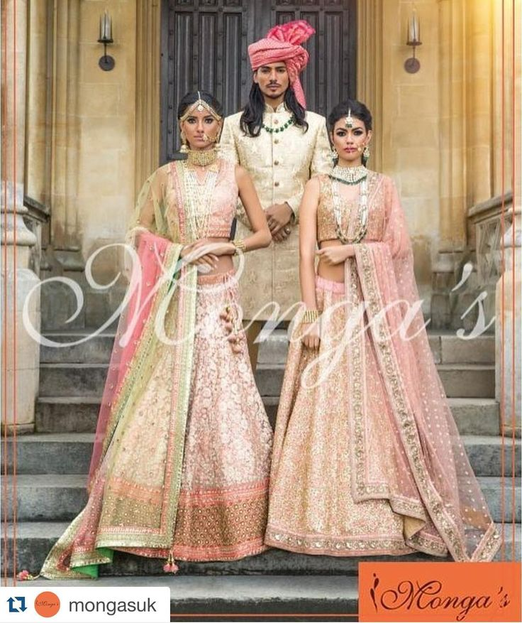 #Repost @mongasuk with @repostapp.  Look pretty in pink! Our Summer collection features blush rose hues complementing the blushing bride in all her glory on her Big Day. A matching pink regal pagri with a resplendent sherwani for your groom will make him look and feel like your Prince Charming.  As featured in Asiana Magazine Summer Edition 2016 @asianatv  Hair & Make-up: @nazmeenmakeup  Jewellery: @deeyajewellery  Nails: @nazilaloveglam  #mongasuk #mongas #asianaweddingmagazine…