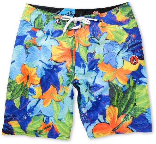 VOLCOM Volcom Floral Fun Blue 20 Board Shorts