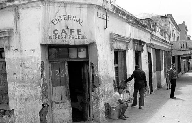 Enternial Cafe, District 6 - 1966 Capetown, South Africa