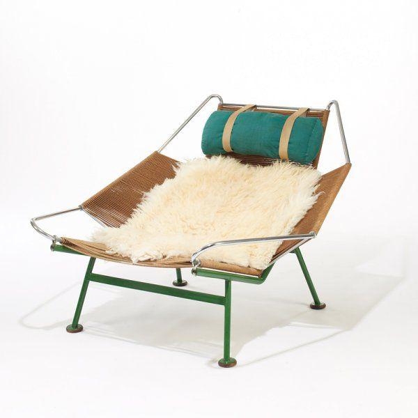 Hans Wegner 'Flag Halyard Chair' furniture