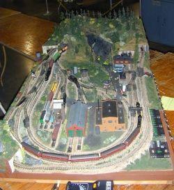 An N-scale train set someday:)