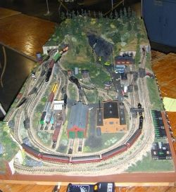 An N-scale train set someday:)