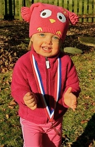 Natalie's life is a bit like a marathon, with many miracles along the way. This adorable little girl continues to beat the odds and inspire us as our @Nationwide Children's Hospital Miracle Mile Champion #12. You won't miss her infectious smile and fun, Hawaiian-themed mile along the course!