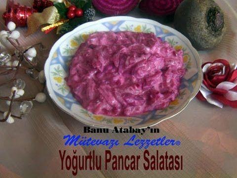 ✿ ❤ ♨ Yoğurtlu Pancar Salatası (Salata Tarifleri)