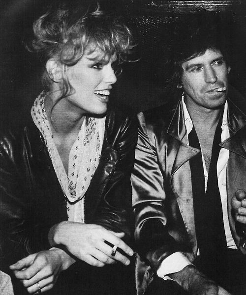 Keith richards and patti hansen | Ageless icons ...