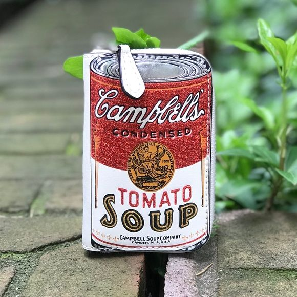 Coach Limited Edition Campbell S Soup Coin Purse Campbell Soup Campbells Condensed Tomato Soup