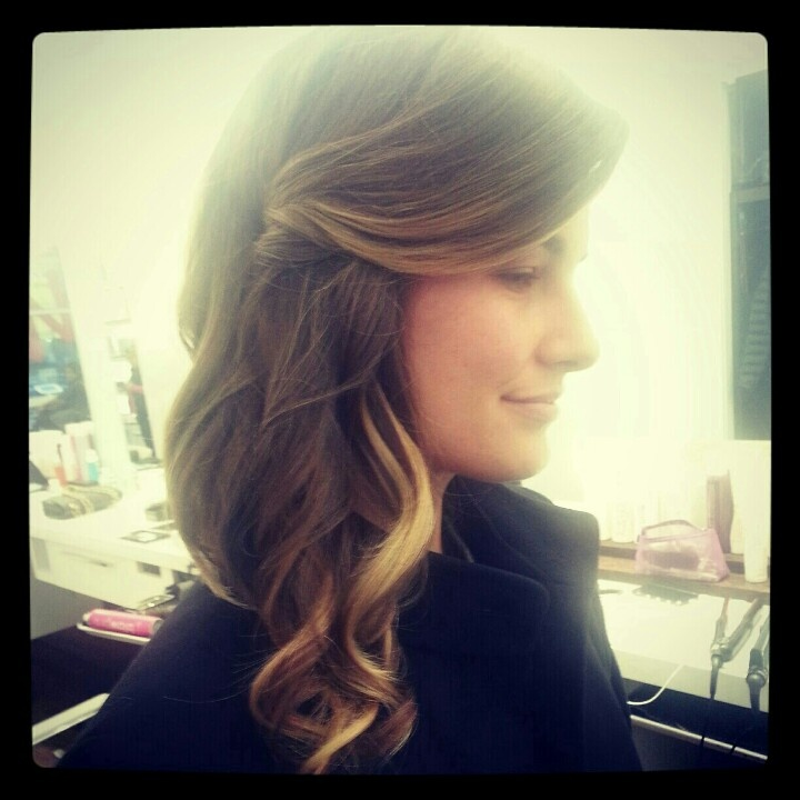 Hair by Erin Taylor at Blow the new york blow dry bar.