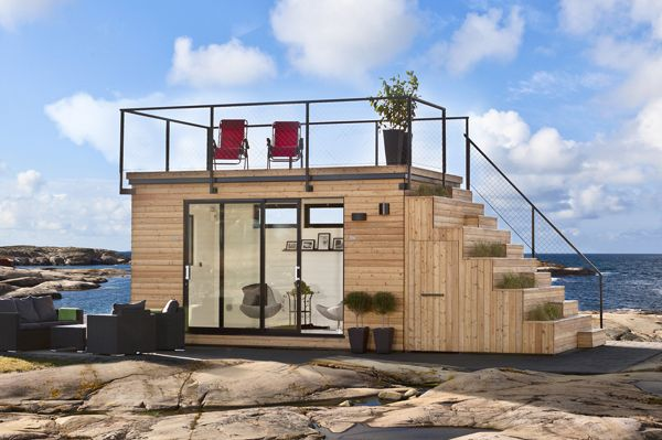 Small is beautiful: compact summer house