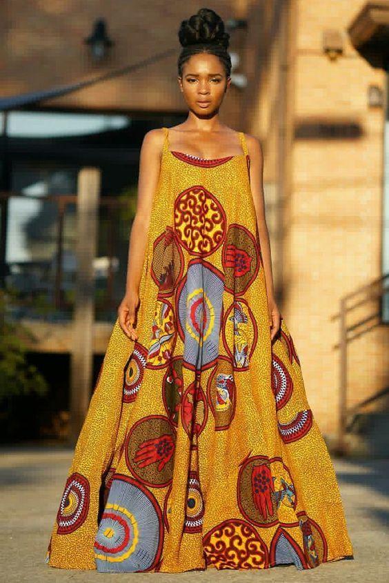 Ankara dress  African Fabric inspiration