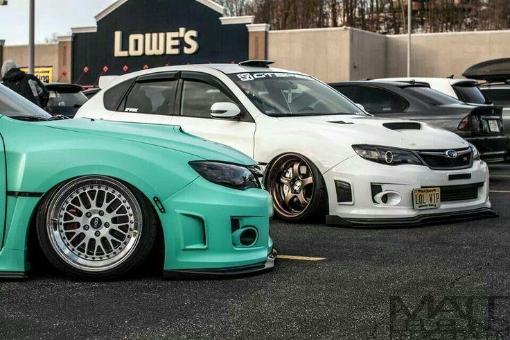 Teal or white? #Subaru #WRX #STi #Stance #Dropped_Daily ...