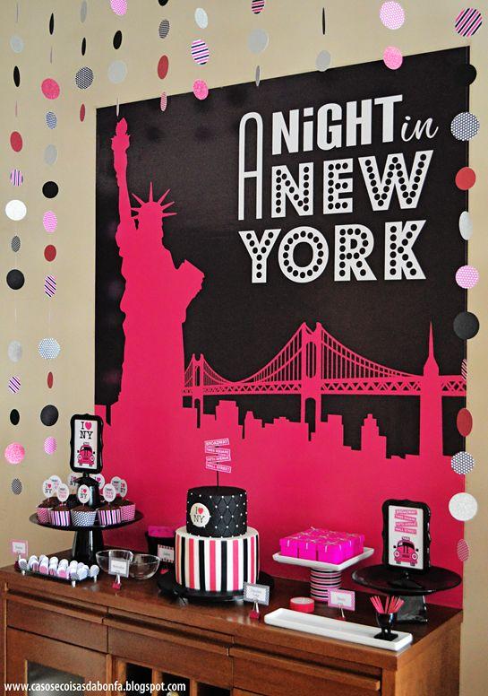 Noite em new york