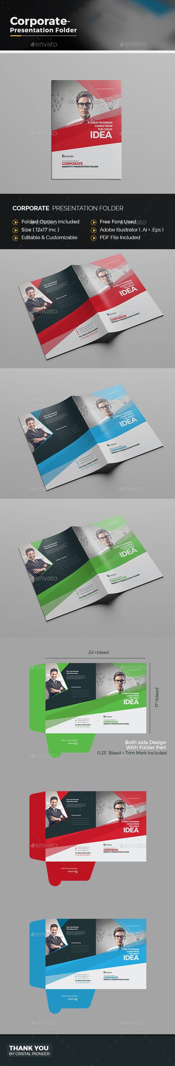 14 best presentation folders images on pinterest | presentation, Presentation templates