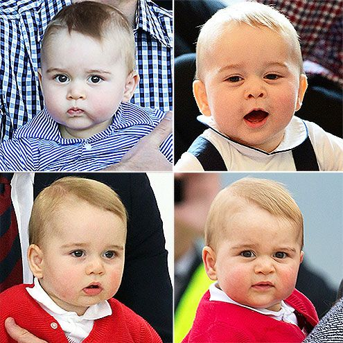 7 Reasons Prince George Will Be the Best Big Brother Ever | 7. HE'S REALLY, REALLY CUTE | Okay, so maybe this won't help Prince George embrace his changing role in the family, but we had to throw it in there!