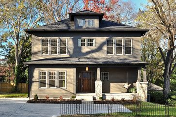 CURB APPEAL – another great example of beautiful design. Traditional exterior near nashville by Tarl LaRocco Designs.