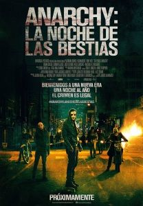 Purge 2. Anarchy: la noche de las Bestias 	(The Purge: Anarchy,	2014)	1-nov-14