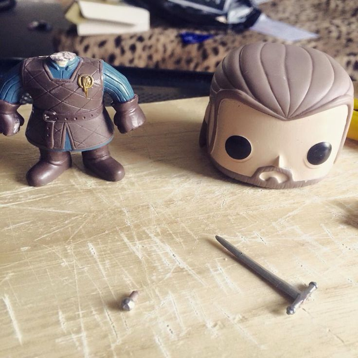 My headless Ned Stark, because I'm not paying $500 plus for the offical one