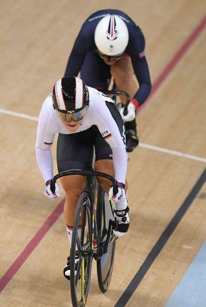 Kristina Vogel, Rebecca James Women's sprint Finals Rio Olympic Games 2016 / AFP