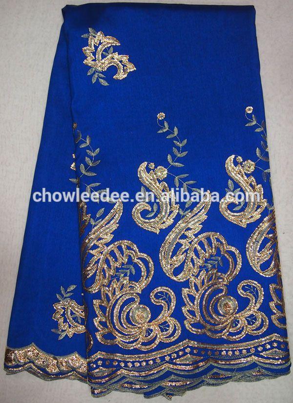 US $ 7 - 10 x 5 yards Silk # Guangzhou Chowleedee  [Allgreat http://gzallgreat.en.alibaba.com/product/1925358907-221247404/indian_george_fabric.html]