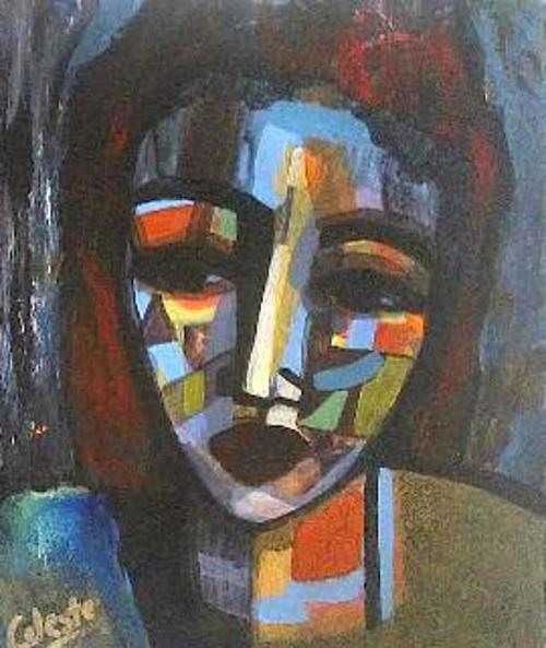 Paintings - JESLYN - AN ORIGINAL PAINTING BY OVERBERG ARTIST CELESTE FOURIE-WIID for sale in Hermanus (ID:260194209)