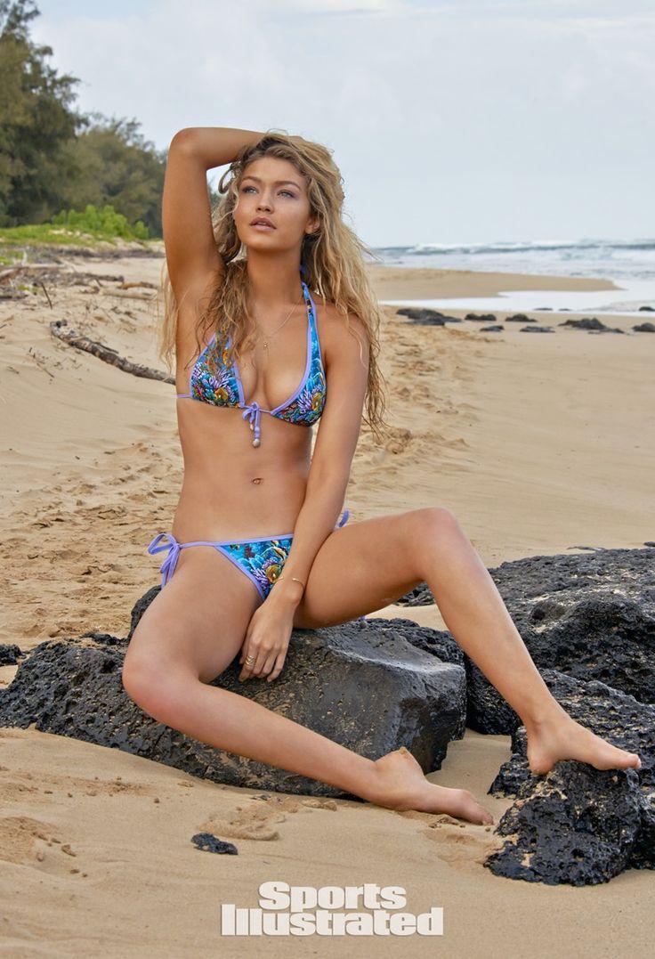 Gigi Hadid Swimsuit Photos, Sports Illustrated Swimsuit 2015 | Famous ...