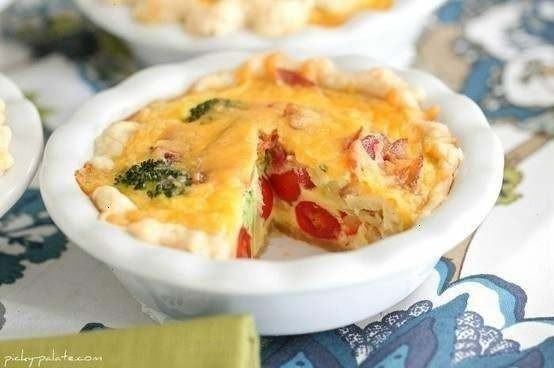 ... vegetable cheddar quiche broccoli quiche with mashed potato crust