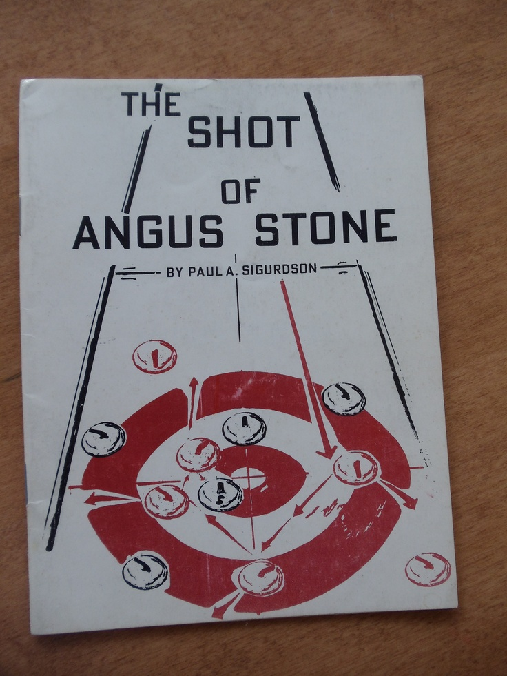 EXTREMELY hard to find, 1966. Sixteen page poem of Angus Stone and his fateful last curling match...